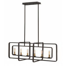 Buy the Hinkley Lighting Buckeye Bronze Direct. Shop for the Hinkley Lighting Buckeye Bronze 6 Light Chandelier from the Quentin Collection and save. Rectangular Chandelier, Linear Chandelier, Candle Chandelier, Chandelier Lighting, Chandeliers, Bathroom Lighting, Table Lighting, Suspension Bar, Bronze Kitchen