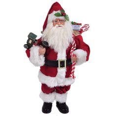 Santa's Workshop Santa Figurine & Reviews | Wayfair