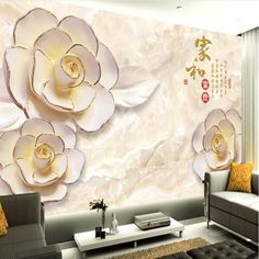 Beibehang Custom Photo Wallpaper HD 3D Modern European Relief Pink Rose TV Background Wallpaper Free Shipping 3d wallpaper(China (Mainland))