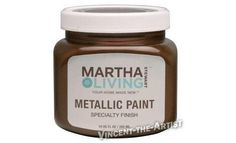 Martha Stewart Lampblack Textured Metallic Finish Paint Pinterest