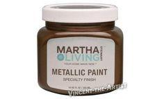 Martha Stewart Lampblack Textured Metallic Finish Paint Pinterest