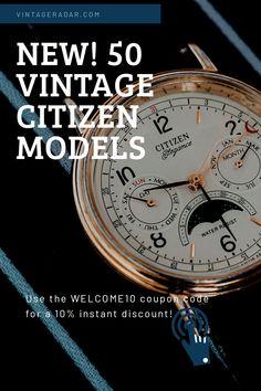 Cute Watches, Vintage Watches, Watches For Men, Watch Diy, Wear Watch, Roman Numerals Dates, Citizen Watches, Quartz Watches, Fashion Watches