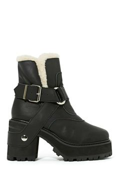 UNIF Sherpa Boot from Nastygal for $200