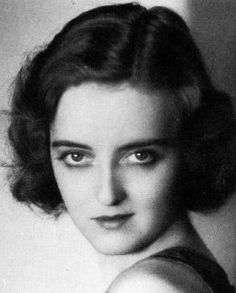 A young Bette Davis
