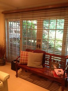 Wood Blinds - Executed by Breslow Home Design www.breslow.com ...