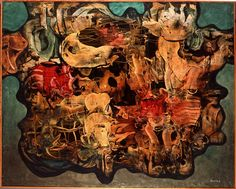 Giving Shape VIII by Alfred Lenica, (later named Giving Shape II), 1957, oil on canvas, the collection of Grażyna & Jacek Łozowski, photo: press materials  - photo 8