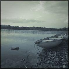 Rowing boat on Vistula river   Flickr - Photo Sharing!
