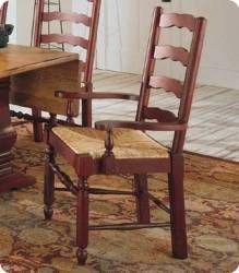 Broyhill Attic Heirlooms Ladderback Arm Chair Set Of 2