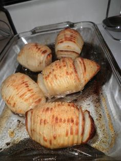 Hasselback potatoes Sweden