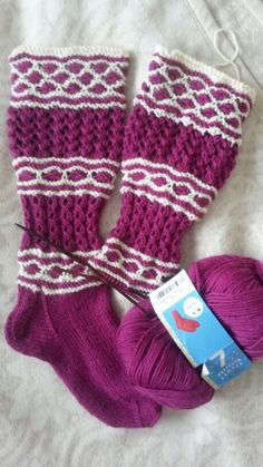 Villasukat Hallayö RK Boot Toppers, Knit Boots, Boot Cuffs, Knit Or Crochet, Knitting Socks, Sock Shoes, Leg Warmers, Mittens, Christmas Stockings