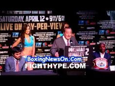 Bob Arum at Pacquiao vs Bradley 2 NYC press conference