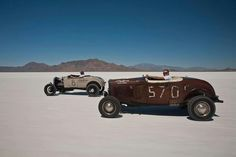 Hot rods on the salt