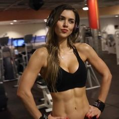 Q & A With Anllela Sagra: Favorite Things, Perfect Date, Abs, & Girls With Abs, Ripped Girls, Gym Girls, Anllela Sagra, Model Training, Tumbrl Girls, Muscle Girls, Moda Fitness, Fit Chicks