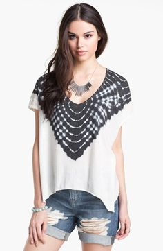 a2d07ee7351d0 Free People Double Team Tie Dye Tee available at  Nordstrom Double Team