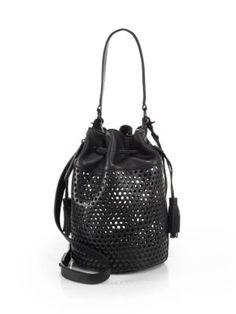 loeffler randal bucket bag