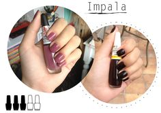 Avaliação e resenha do esmalte Impala - Nail polish Impala
