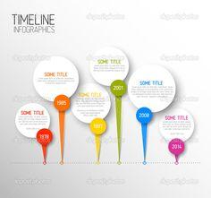 horizontal timeline template on google | modelo de relatório de linha horizontal escura do tempo infográfico ...