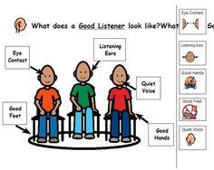 Boardmaker Listen | Boardmaker Achieve - Listening Skills