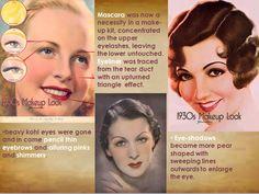 MAKEUP OF 1930s.