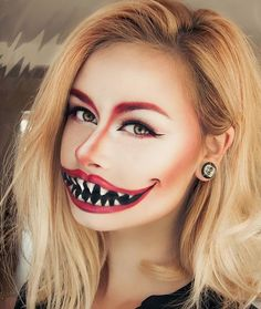 50 Pretty Halloween Makeup Ideas You'll Love | Halloween 2016 beauty looks for women | scary