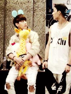 Mark and Jackson being Markson. Lol | I like that Mark is afraid before then smiling after. He's like oh no . . . Oh okay