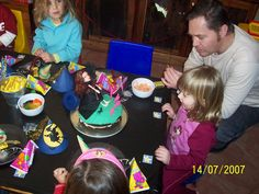 4th Birthday Witch Party