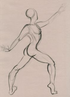 gesture drawing #colorpencil