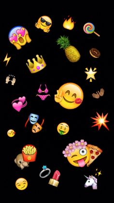 Poop emoji gold background emojiiis pinterest backen for Schwarze mustertapete
