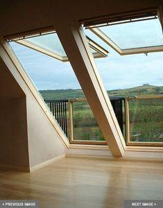 Dachschräge Dachfenster