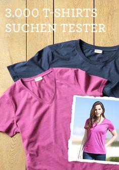 T-Shirt testen bei HessNatur. Es soll ein T-Shirt aus einem neuen Bio-Material auf den Markt kommen, aus Bio-Baumwolle, fair produziert und zu 100% biologisch abbaubar sein.