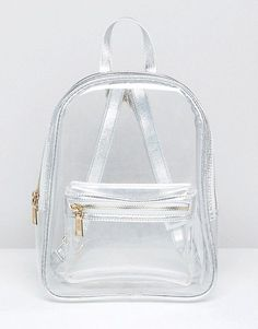 Discover the latest backpacks for women with ASOS. From leather backpacks to mini and practical options, we have something to suit you. Shop now with ASOS. Clear Backpacks, Cute Mini Backpacks, Girl Backpacks, Pull & Bear, Fashion Bags, Fashion Backpack, Ootd Fashion, Style Fashion, My Bags
