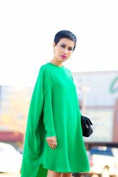 Circle in Green | Nini's Style