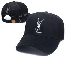 9ed5f75633616 YSL Caps Yves Saint Lauren Mesh Dad Hat - Black. Baseballcapsoh · YSL Snapback  Hats