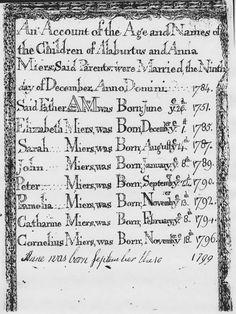 Family BIble of Albertus Myers Anno Domini, Bible, History, Sayings, Biblia, Historia, Lyrics, Quotations, The Bible
