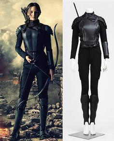 Be the real-life Mockingjay Katniss now! Perfect for Halloween, costume parties or cosplay, made of cotton and synthetic leather. This Super Amazing Mockingjay Katniss Costume for women is very comfortable to wear! Hunger Games Outfits, Hunger Games Costume, Game Costumes, Costume Parties, Katniss Halloween Costume, Mockingjay Costume, Costume Ideas, Popular Costumes, Costumes For Women