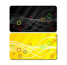 Fun Colorful Business/Gift Card Templates Set - http://www.welovesolo.com/fun-colorful-businessgift-card-templates-set/