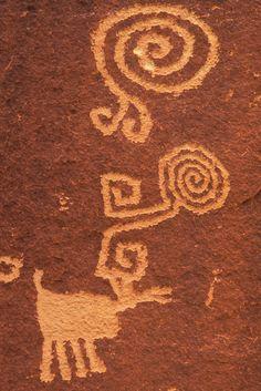 Petroglyphs, Village of the Great Kivas, Zuni Pueblo Indian Reservation, New Mexico