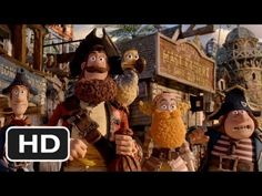 'The Pirates! Band of Misfits' Official Trailer (Starring Hugh Grant and David Tennant)