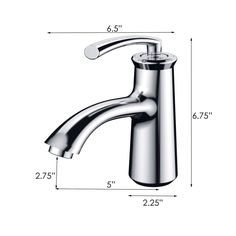 Elimax Luxury Short Chrome Single-handle Bathroom Lavatory Faucet | Overstock™ Shopping - Great Deals on Bathroom Faucets $113.