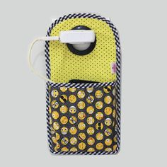 Diy Phone Bag, Charger Holder, Telephone, Couture, Sewing Crafts, Lunch Box, Creations, Diy Ideas, Halloween
