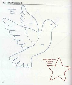 Image gallery – Page 90916486213602778 – Artofit Diy Christmas Ornaments, Felt Ornaments, Easter Crafts, Christmas Crafts, Different Birds, Palm Sunday, Christmas Templates, School Decorations, Stained Glass Patterns