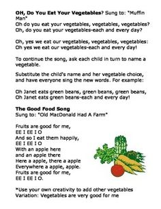 Fruits And Vegetables Preschool Theme Week Preschool Themes Activities And School