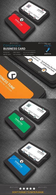 Corporate Business Card - Business Cards Print Templates Download here : https://graphicriver.net/item/corporate-business-card/18947825?s_rank=95&ref=Al-fatih
