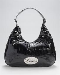 $59 Brand New Dereon Large Faux Crocodile Hobo Bag Free Shipping