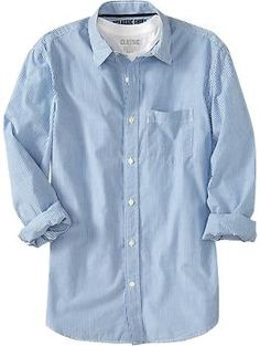 Men's Everyday Classic Slim-Fit Shirts   Old Navy