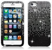 jewelled iphone case.