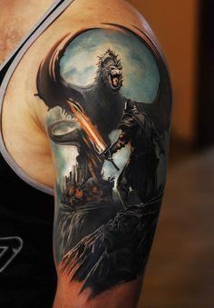 9 warrior tattoo