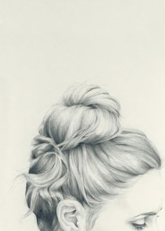 To Draw: Inspiration hair. [Great illustration of hair]