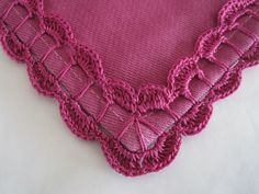 Crochet and Knitting Crochet Fabric, Thread Crochet, Crochet Trim, Love Crochet, Filet Crochet, Crochet Motif, Crochet Designs, Crochet Doilies, Crochet Lace