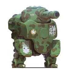 Heavy Recon for by alexkonstad Robot Concept Art, Game Concept, Character Concept, Character Art, Character Design, Prop Design, Robot Design, Game Design, Robot Militar